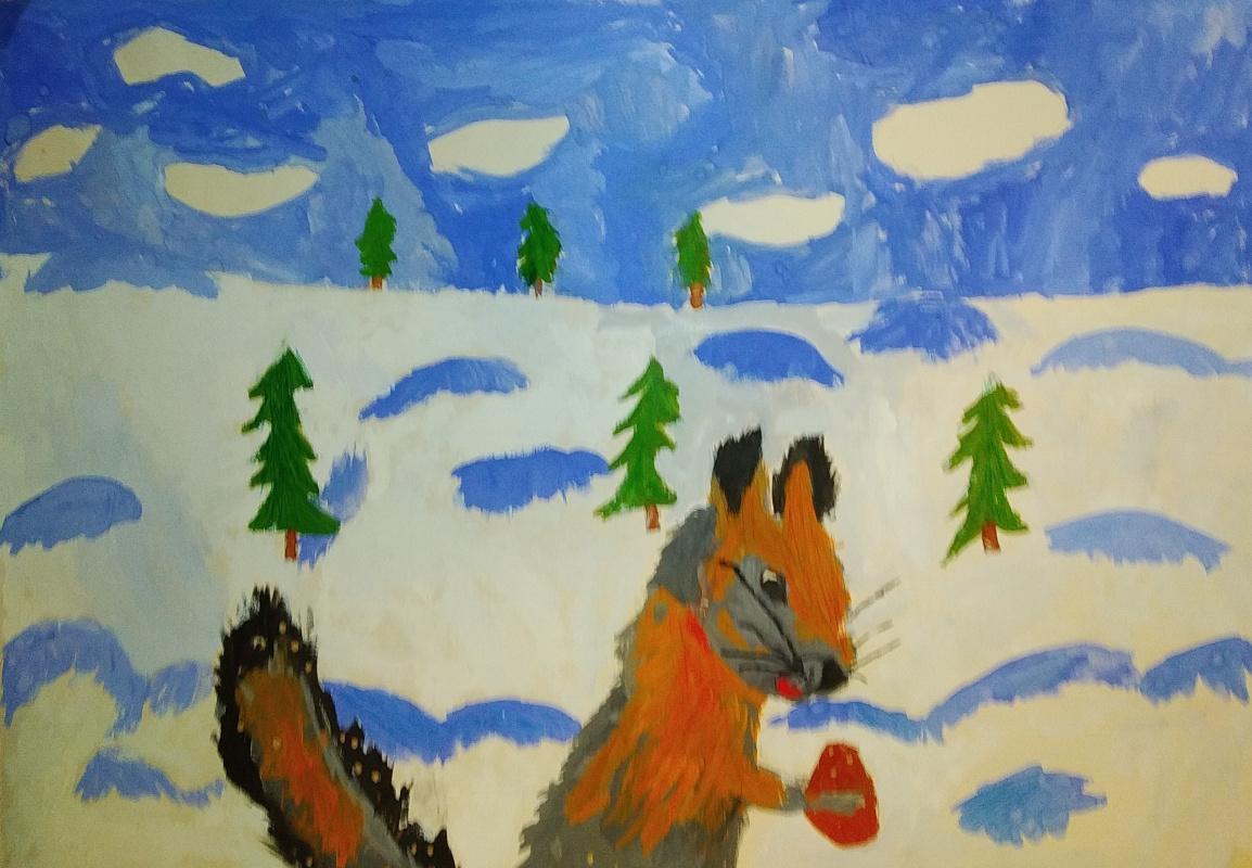 Zina Vladimirovna Parisva. Squirrel