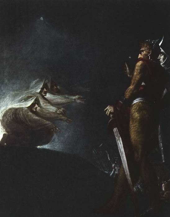 Johann Heinrich Fuessli. Witches