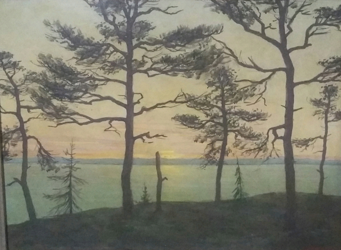 Valentin Sergeevich Chekmasov. White nights of Karelia