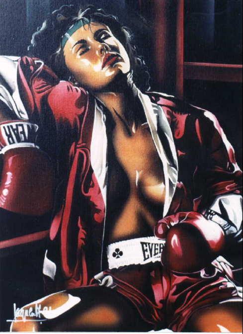 Алан Сагуез. Бокс