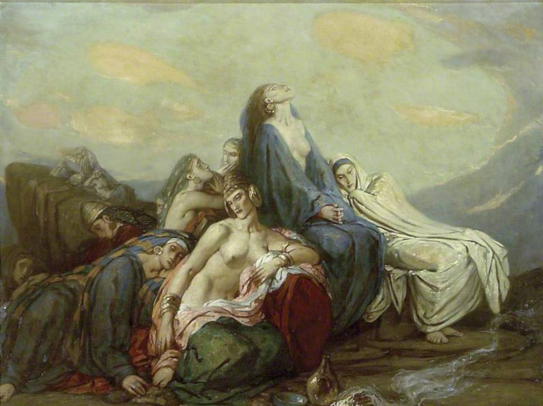 Charles Ricketts. Daughters of Jephthah