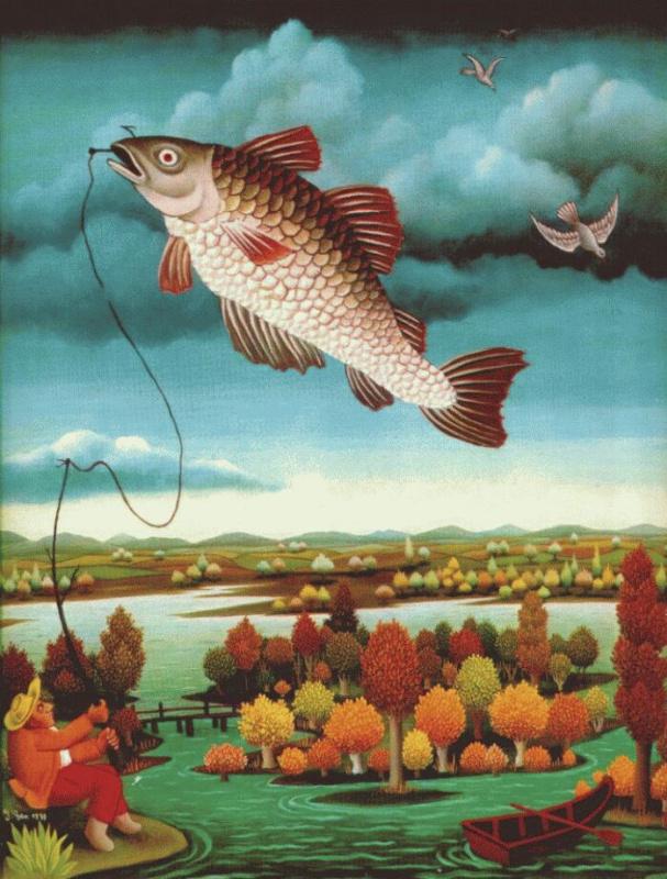 Иван Генералич. Рыба в воздухе