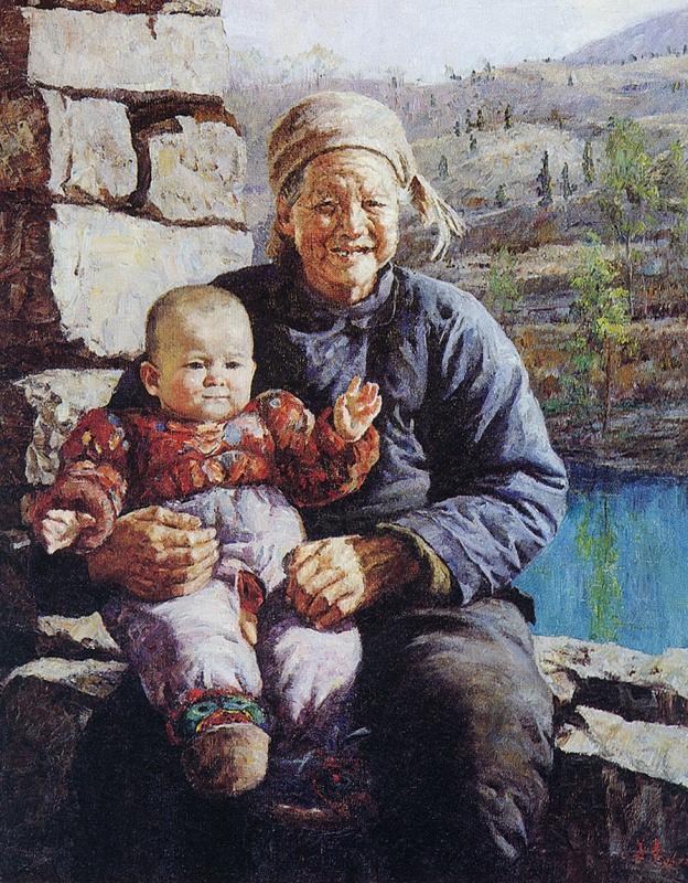 Цзян Хуэй. Это мой дедушка