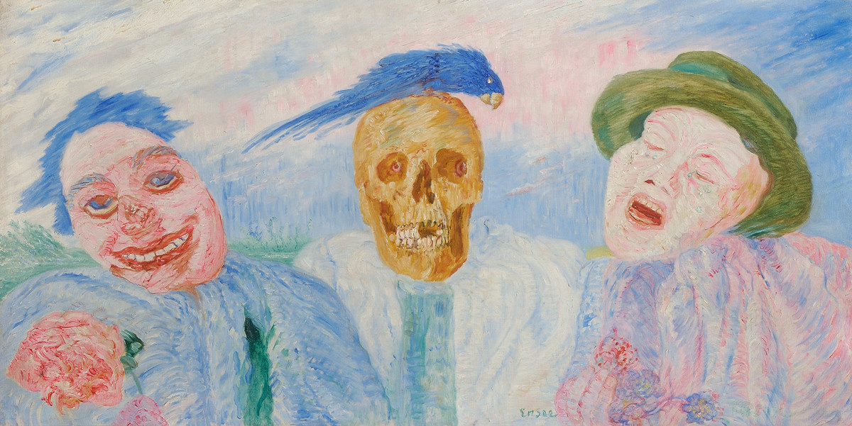 James Ensor. From laughter to tears