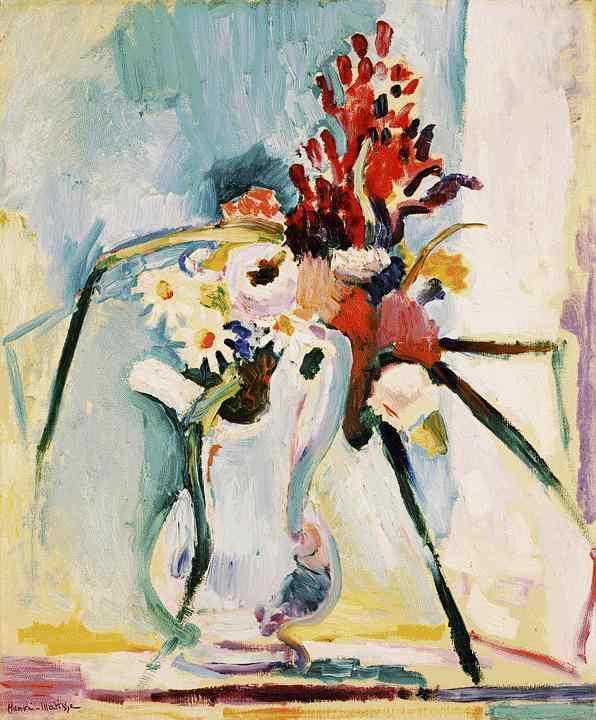 Анри Матисс. Кувшин в цветами