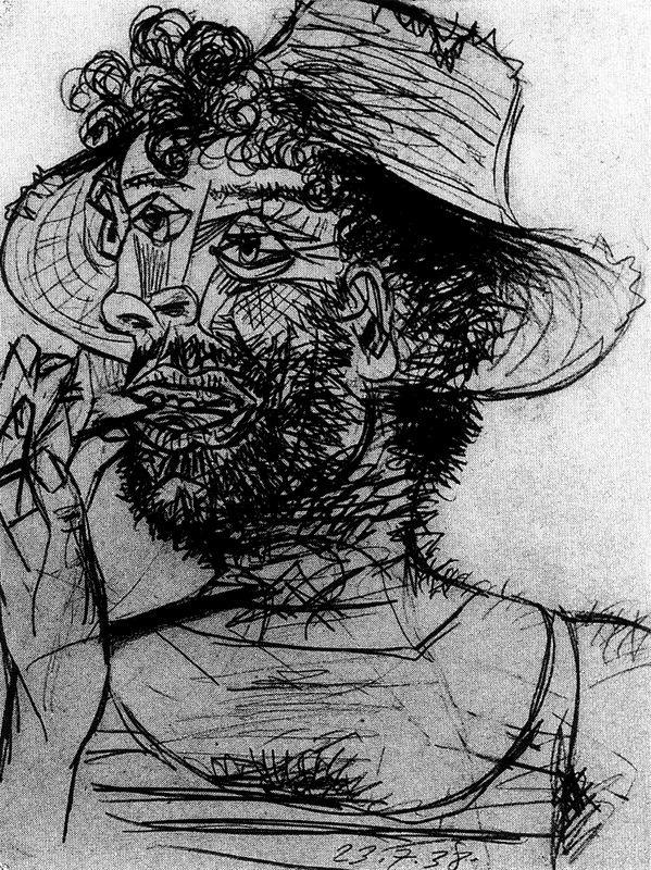 Пабло Пикассо. Мужчина с мороженым