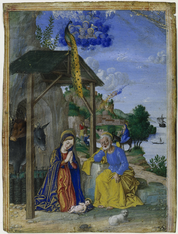 Джироламо даи Либри (Girolamo dai Libri). Nativity