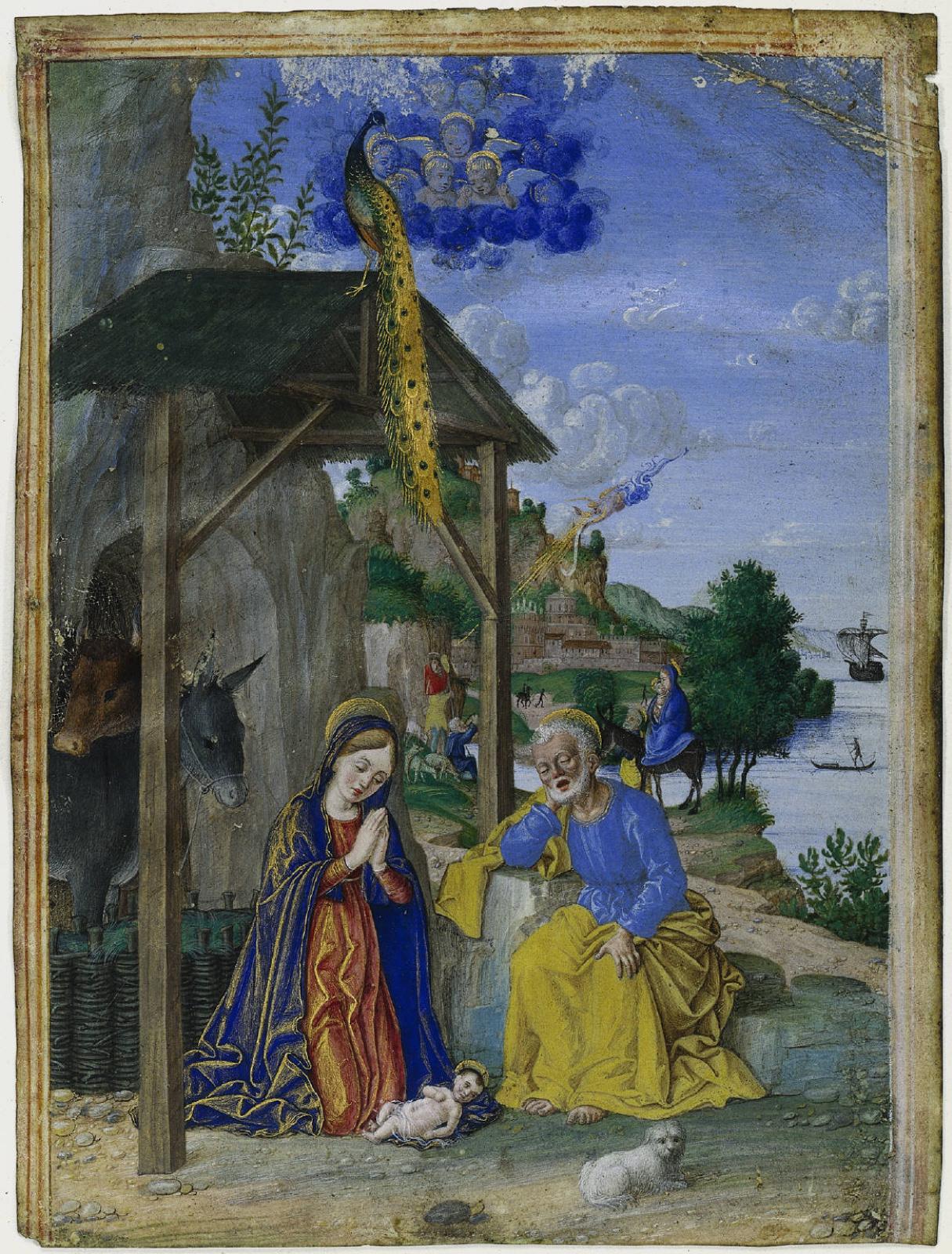 Джироламо даи Либри (Girolamo dai Libri). Nativity