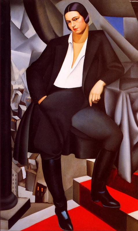 Тамара Лемпицка. Портрет герцогини де ла Саль