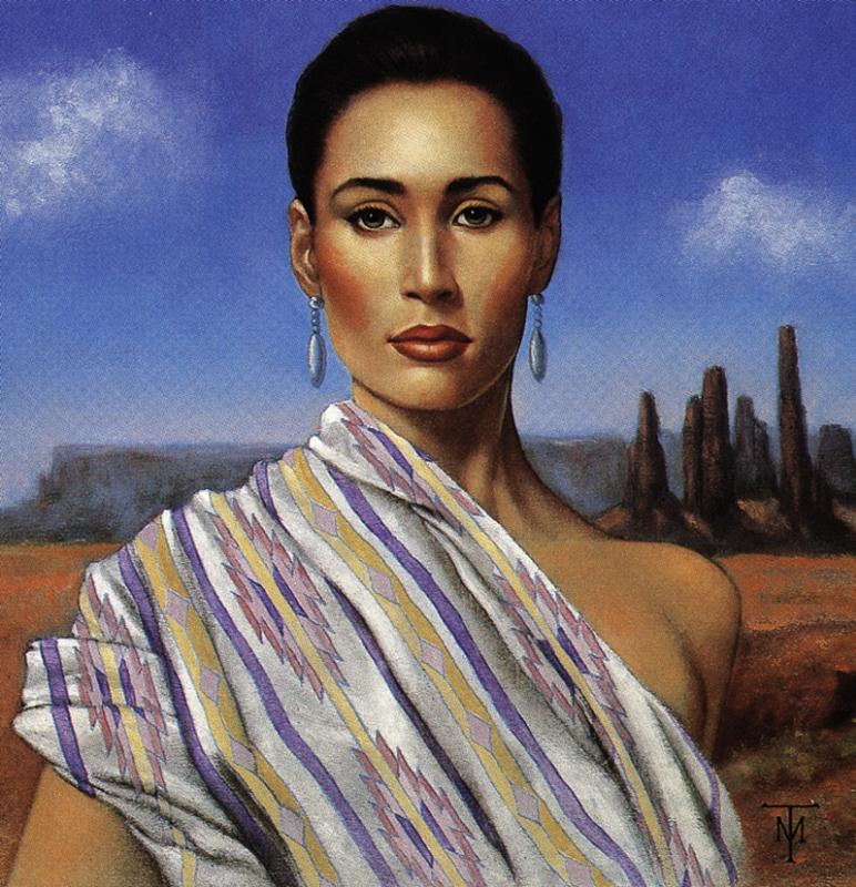 Майкл Тедеско. Портрет в пустыне