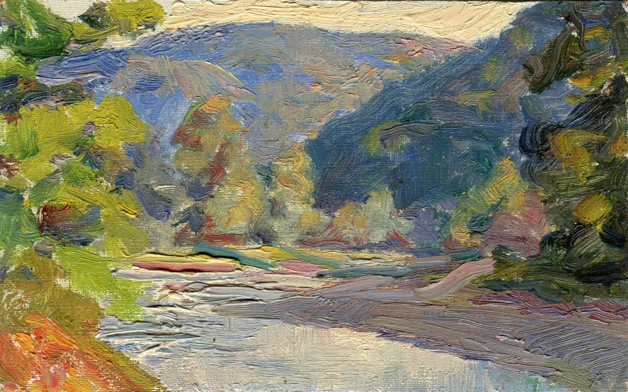 Vasily Fadeevich Demin. Untitled Study