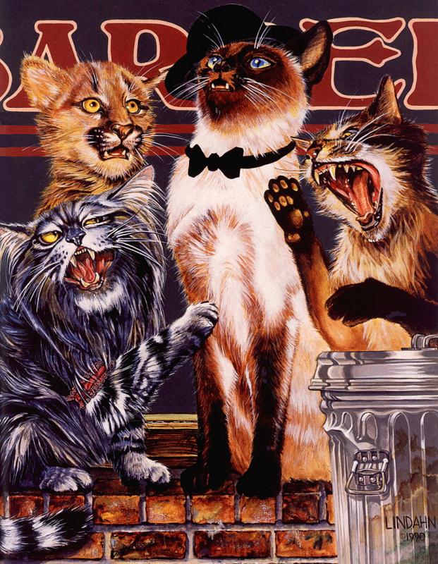 Валь и Рон Линдхан. Сладкая кошачья линия