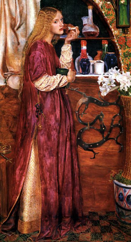 Валентин Принсеп. Королева ест хлеб и мед