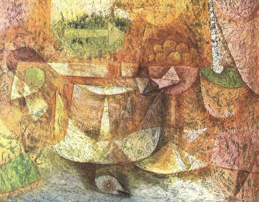 Пауль Клее. Натюрморт с голубем