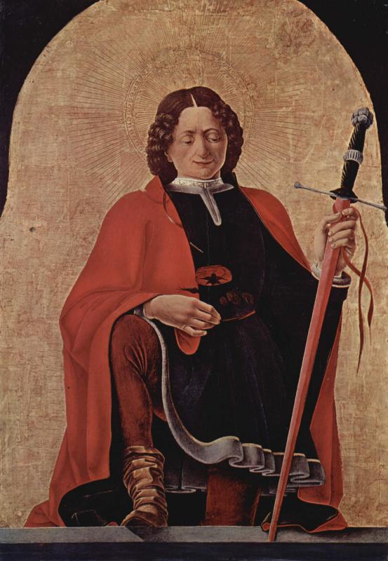 Франческо дель Косса. Алтарь Гриффони, первоначально Капелла Гриффони в церкви Сан Петронио в Болонье