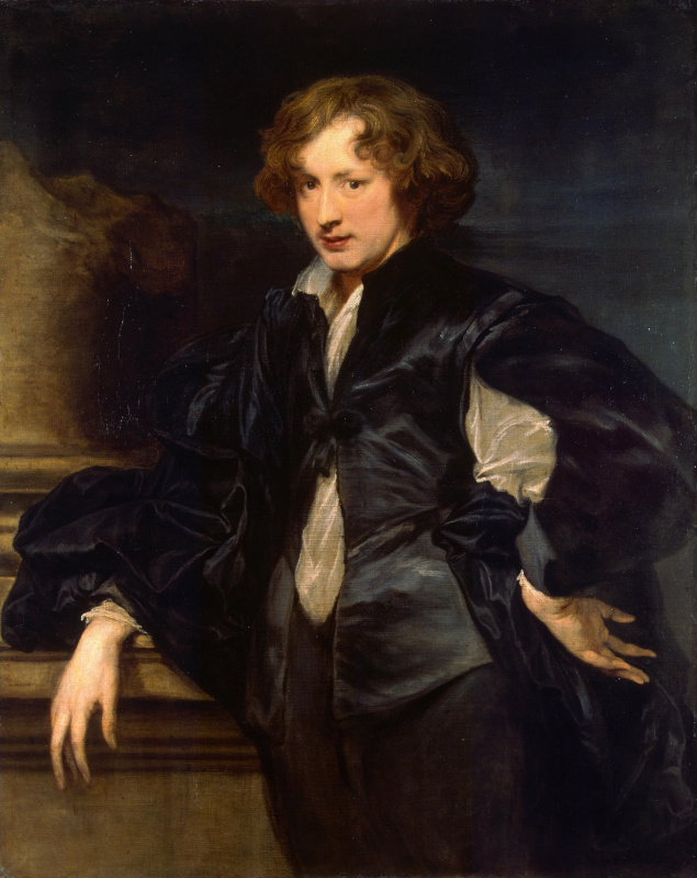 Anthony van Dyck. Self-portrait