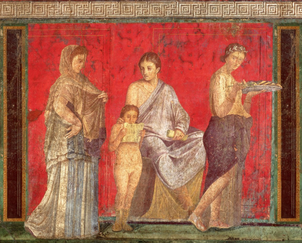 Unknown artist. Villa of Mysteries, Pompeii