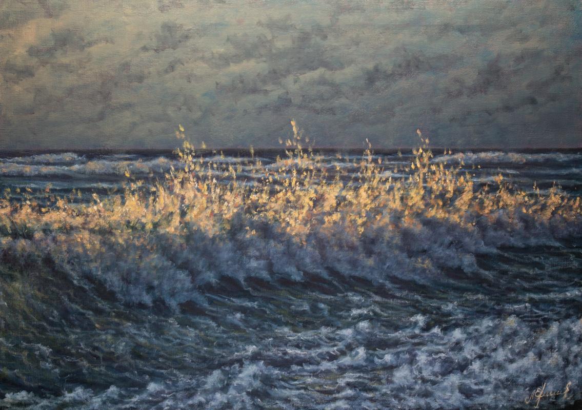 Valery Levchenko. No. 450 Last rays of the setting sun