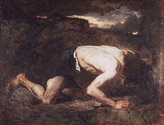 Thomas Couture. The fugitive