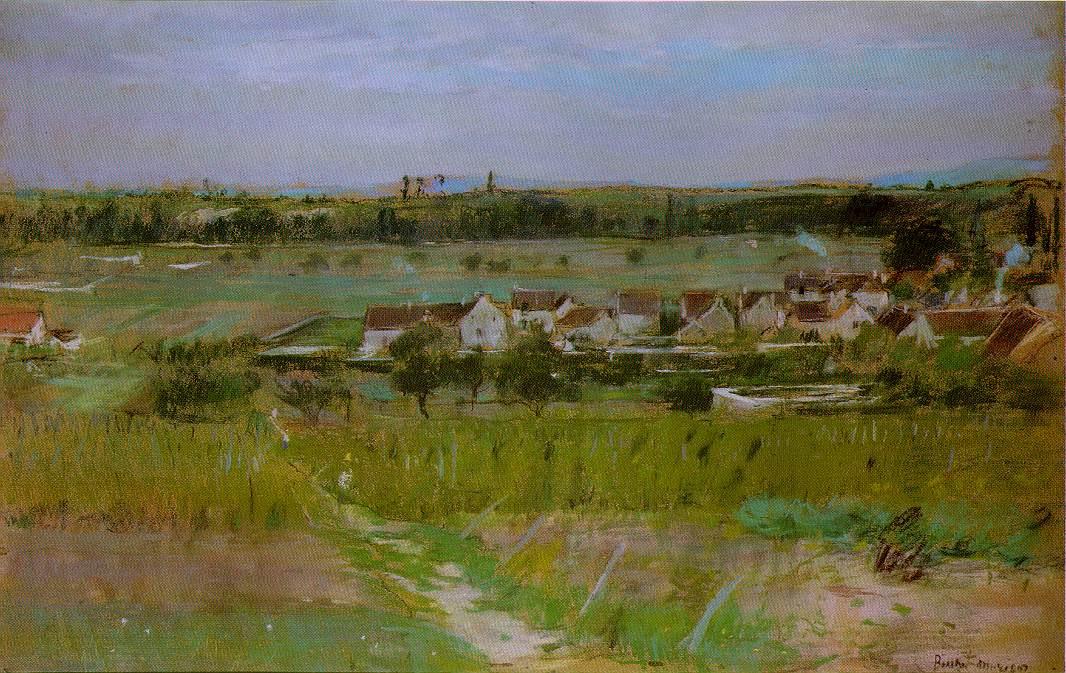 Берта Моризо. Деревня
