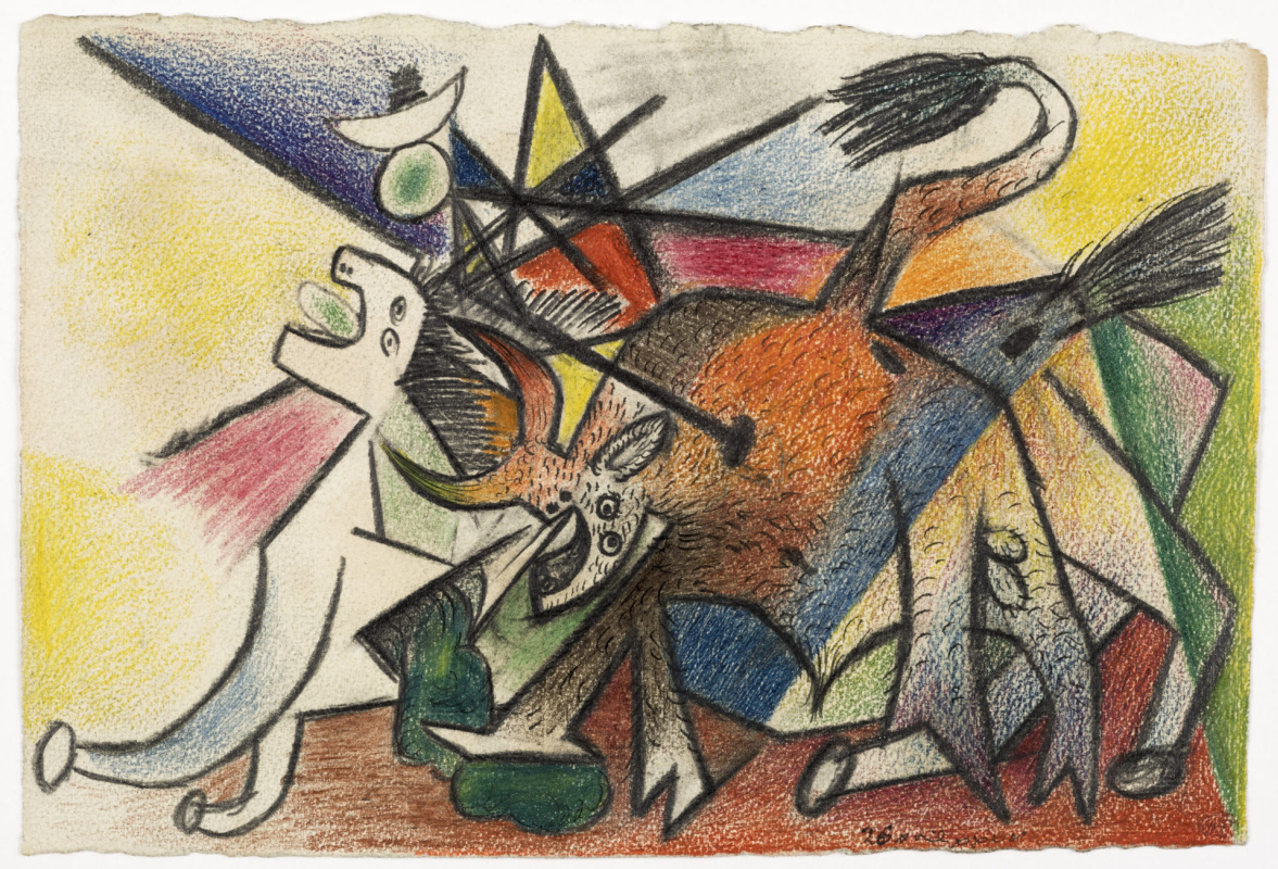 Пабло Пикассо. Коррида