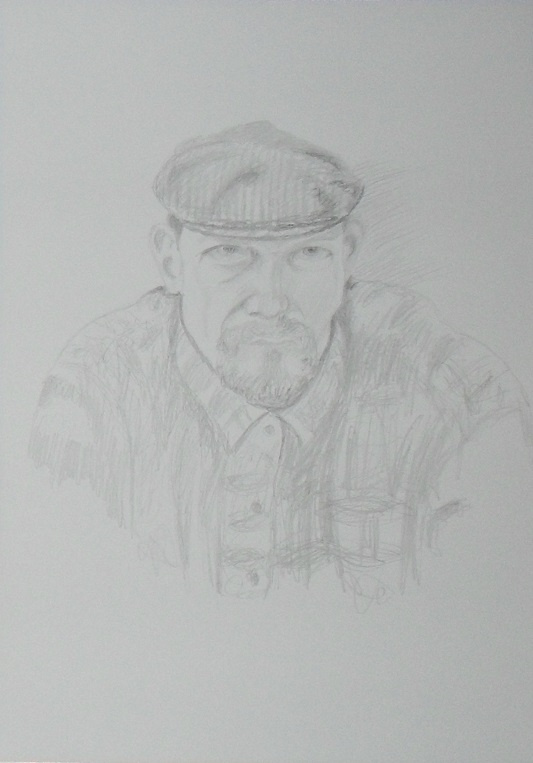 Василий Береговой. Автопортрет.