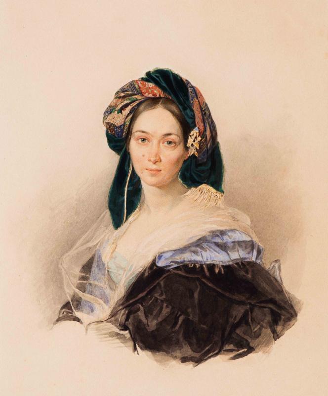 Портрет княгини Долгоруковой в чалме
