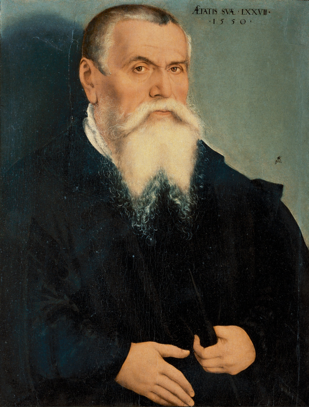 Lucas Cranach the Elder. Self-portrait