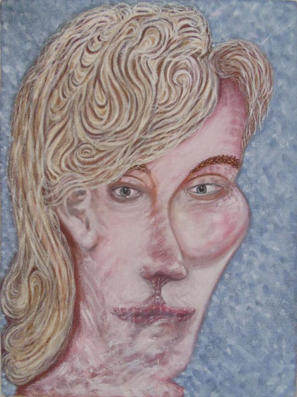 Chris Waddington. Slow Water II (imaginary portrait)