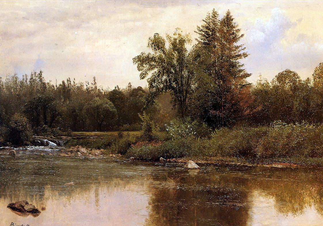 Альберт Бирштадт. Пейзаж Нью Гемпшир