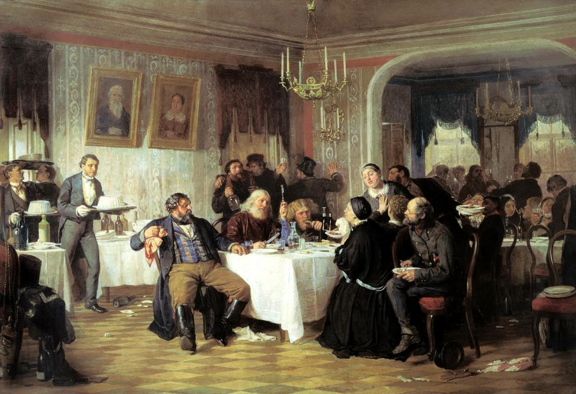 Firs Sergeevich Zhuravlev. The merchant's Wake