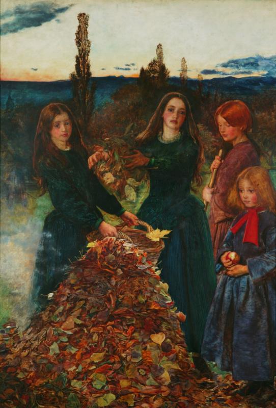 Джон Эверетт Милле. Осенние листья