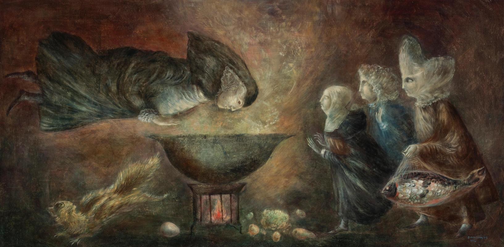 Leonora Carrington. Saint Theresa in the kitchen