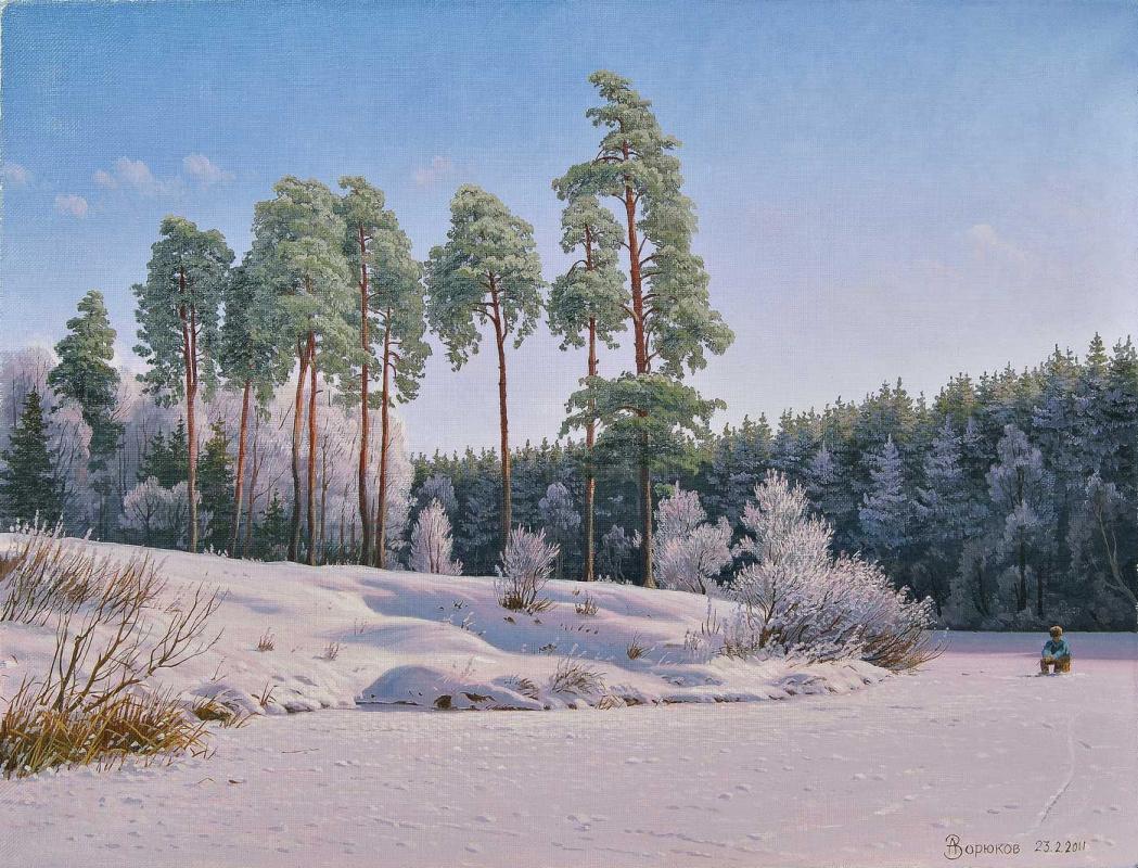 Alexander Vasilyevich Zoryukov. Short winter day