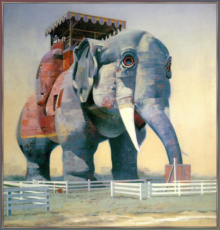 Гарри Девлин. Слон