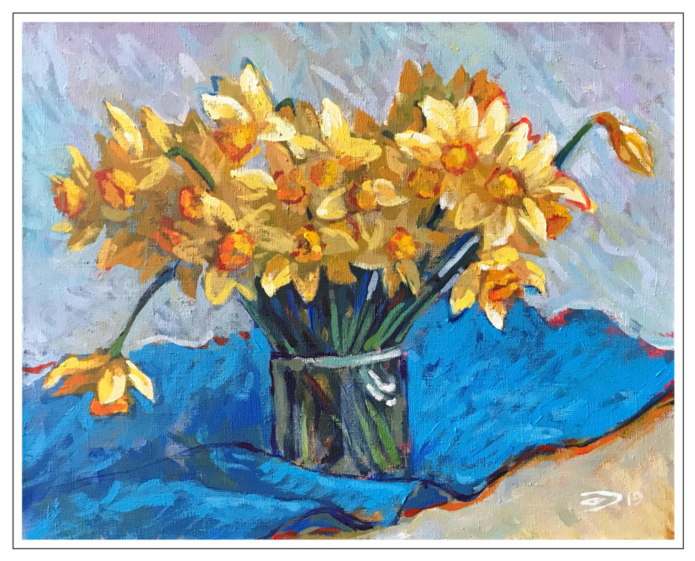 Alexander Dmitrievich Svistunov. Daffodils
