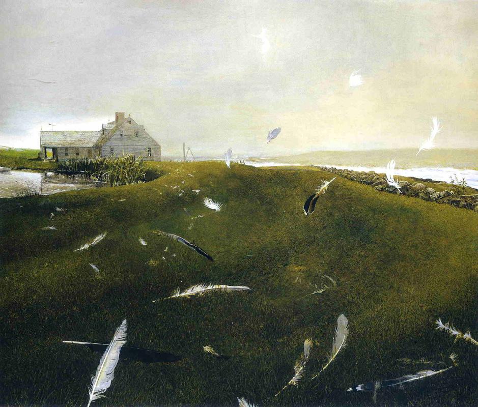 Andrew Wyeth. Airborne