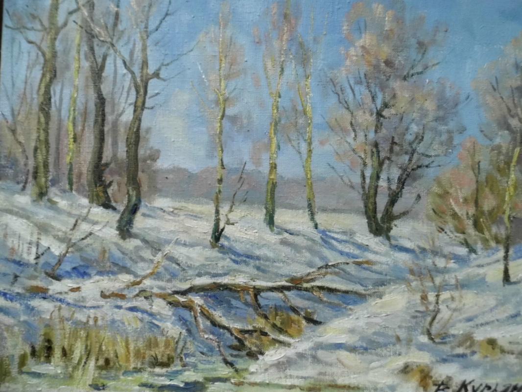 Victor Vladimirovich Kuryanov. Stream in the ravine