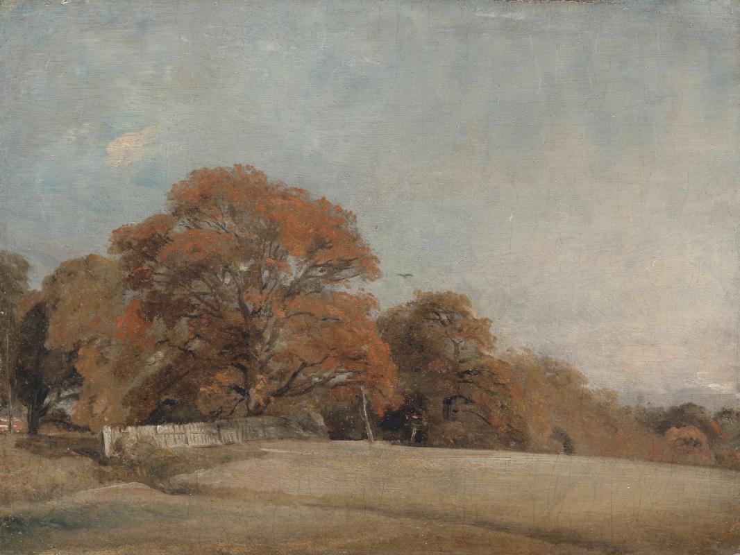 John Constable. An Autumnal Landscape at East Bergholt
