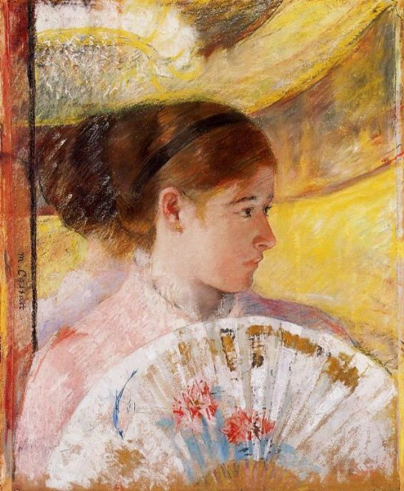 Mary Cassatt. In the theater