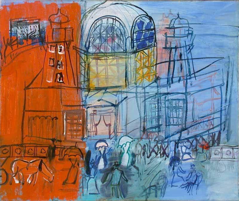 Raoul Dufy. Casino de La Jetée in nice