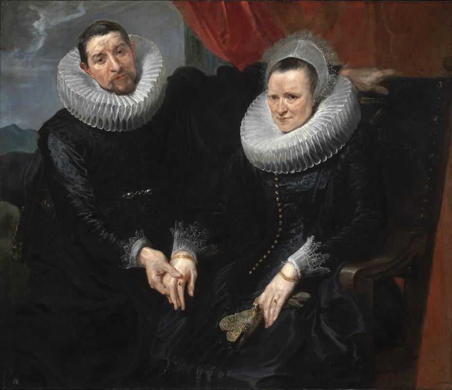 Антонис ван Дейк. Портрет супружеской пары