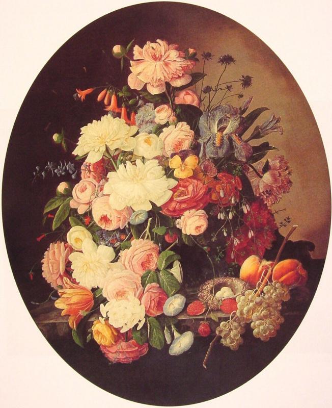 Северин Розен. Натюрморт с цветами
