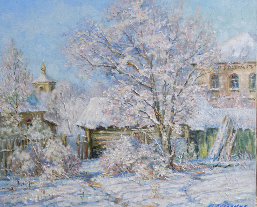 Victor Vladimirovich Kuryanov. Winter morning