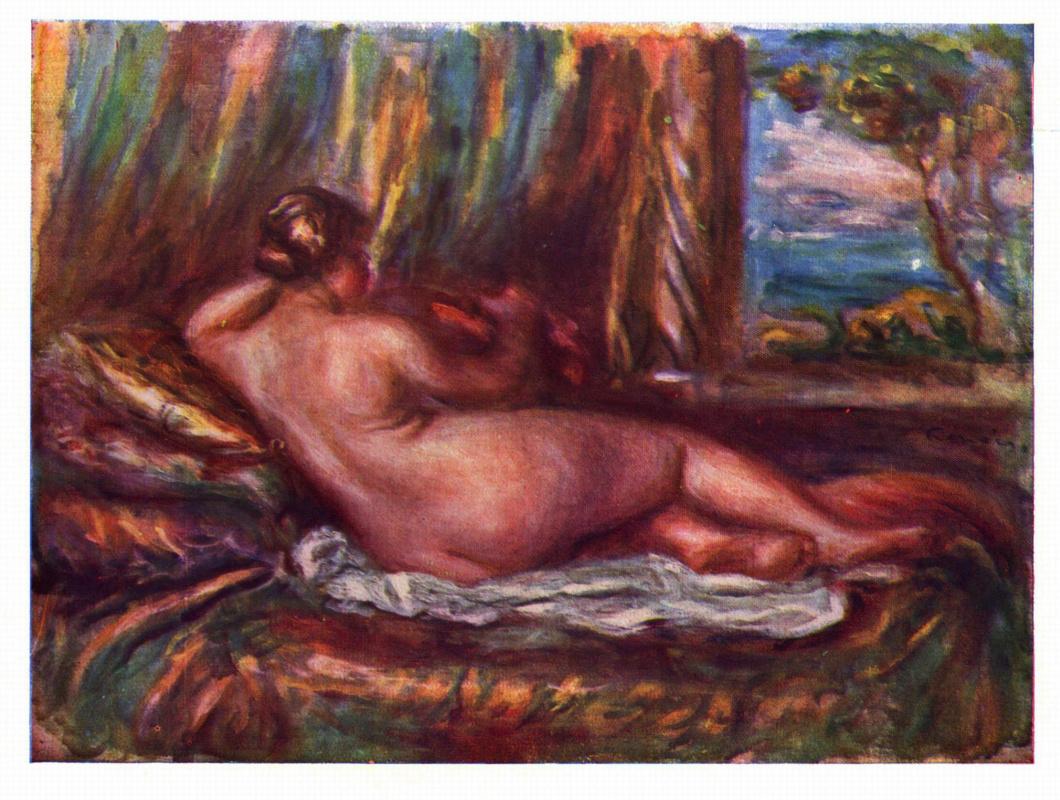 Pierre-Auguste Renoir. Odalisque