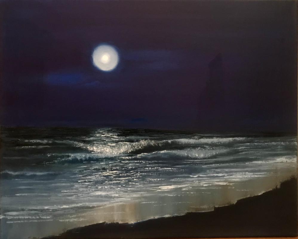 Anastasiya Kalinina. Night sea