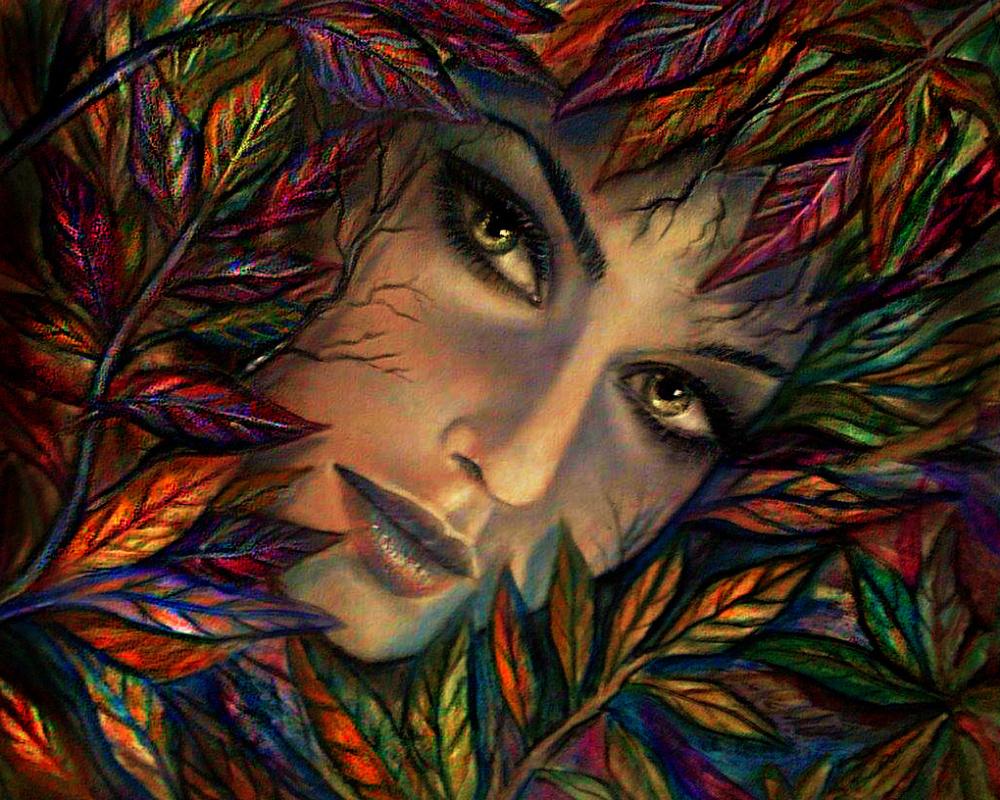 Cristina de biasio. Autumn goddess