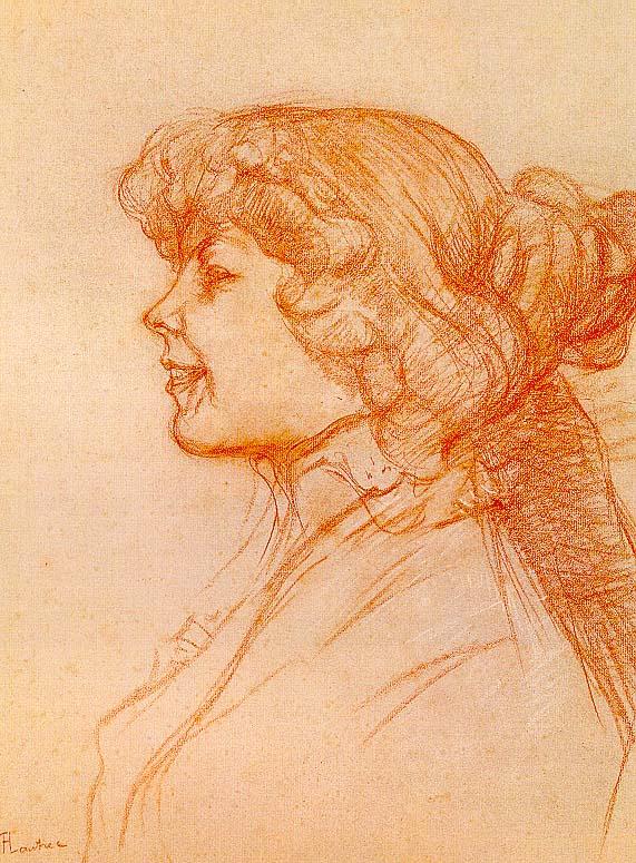 Анри де Тулуз-Лотрек. Английский девушка на звезде в Гавре
