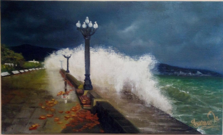 Sergei Dubinin. Storm