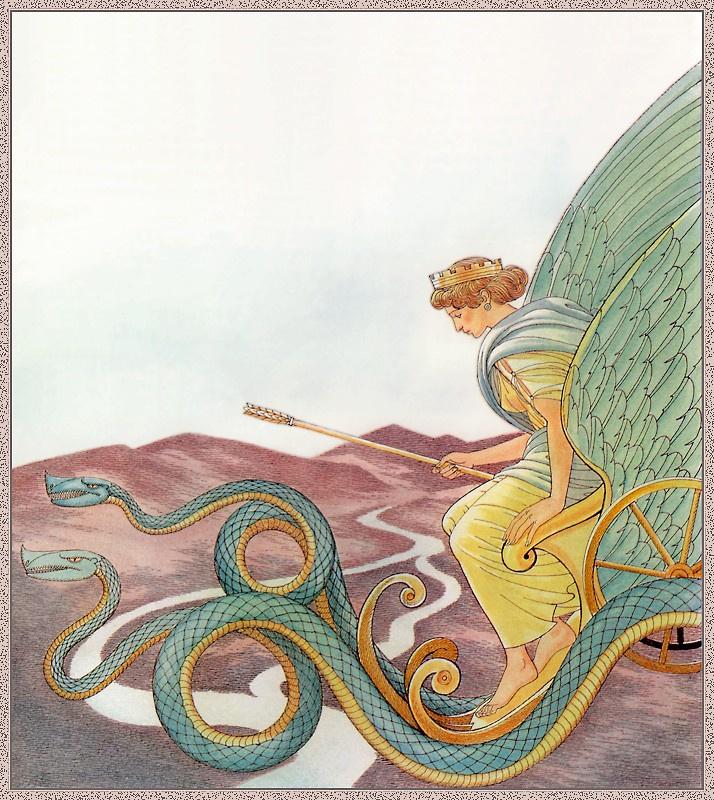 Джованни Казелли. Змеи